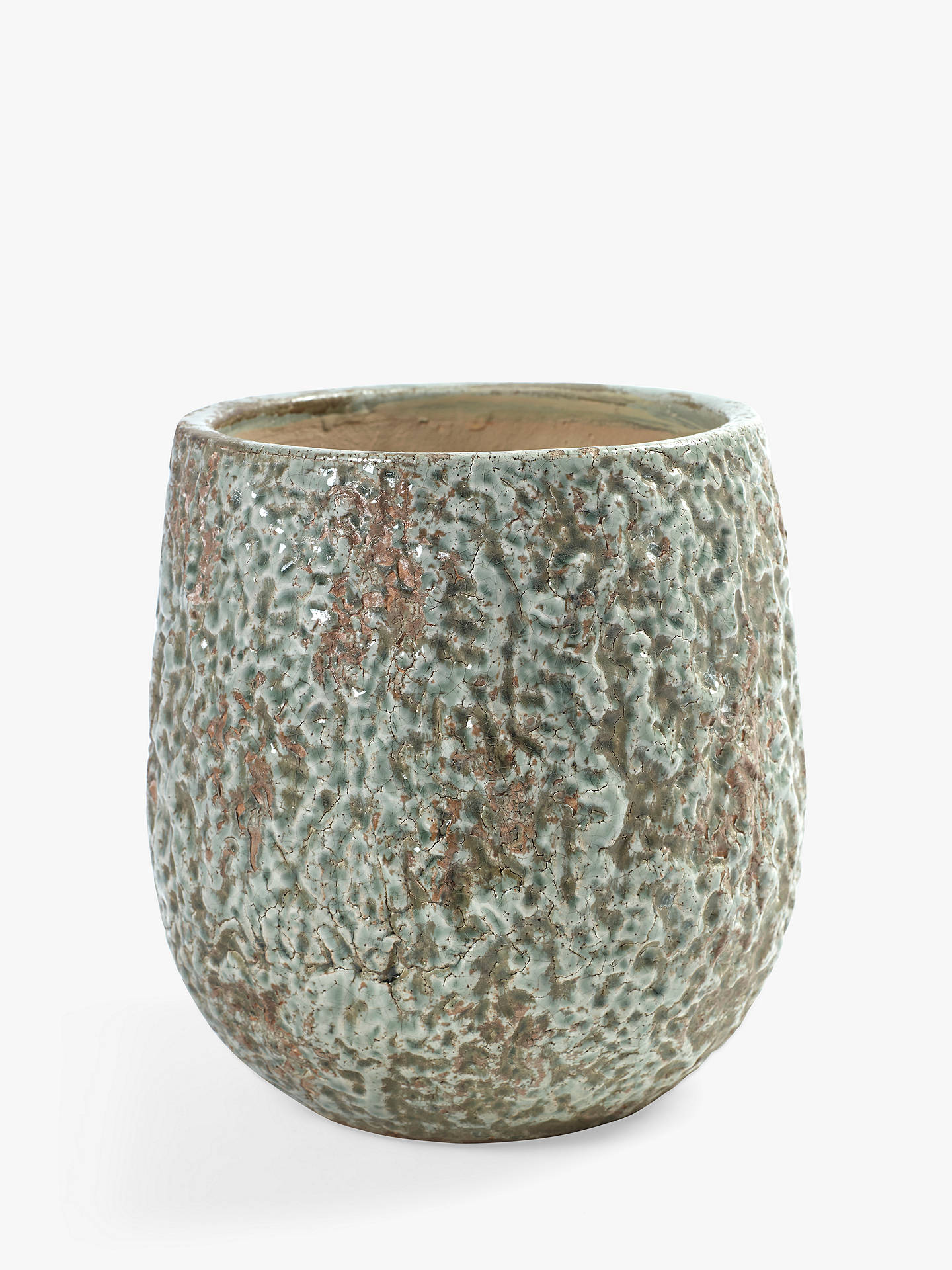 BuySerax Textured Relief Pot Online at johnlewis.com