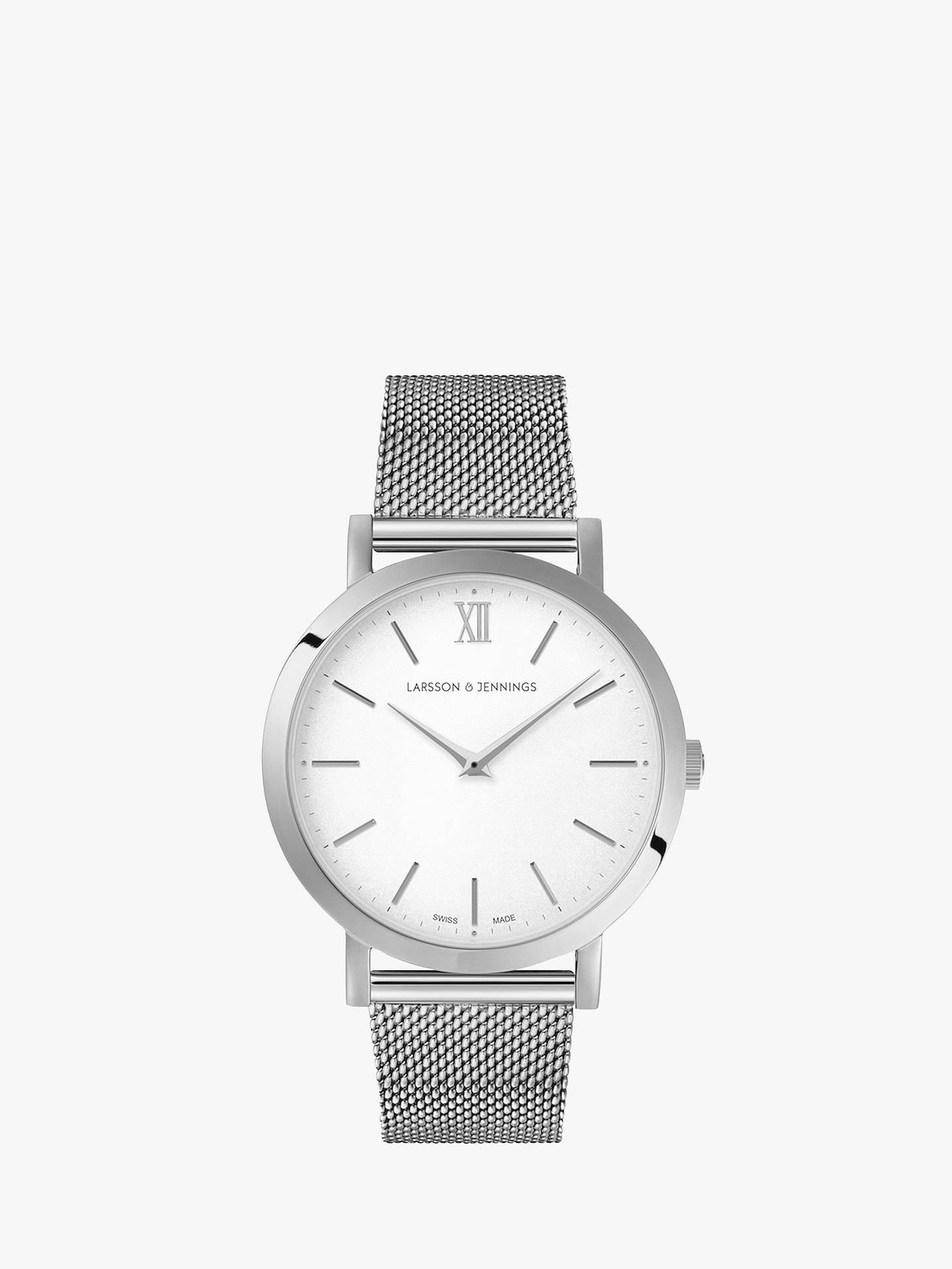 0e5be90ee7b Larsson   Jennings Unisex Lugano Bracelet Strap Watch at John Lewis ...
