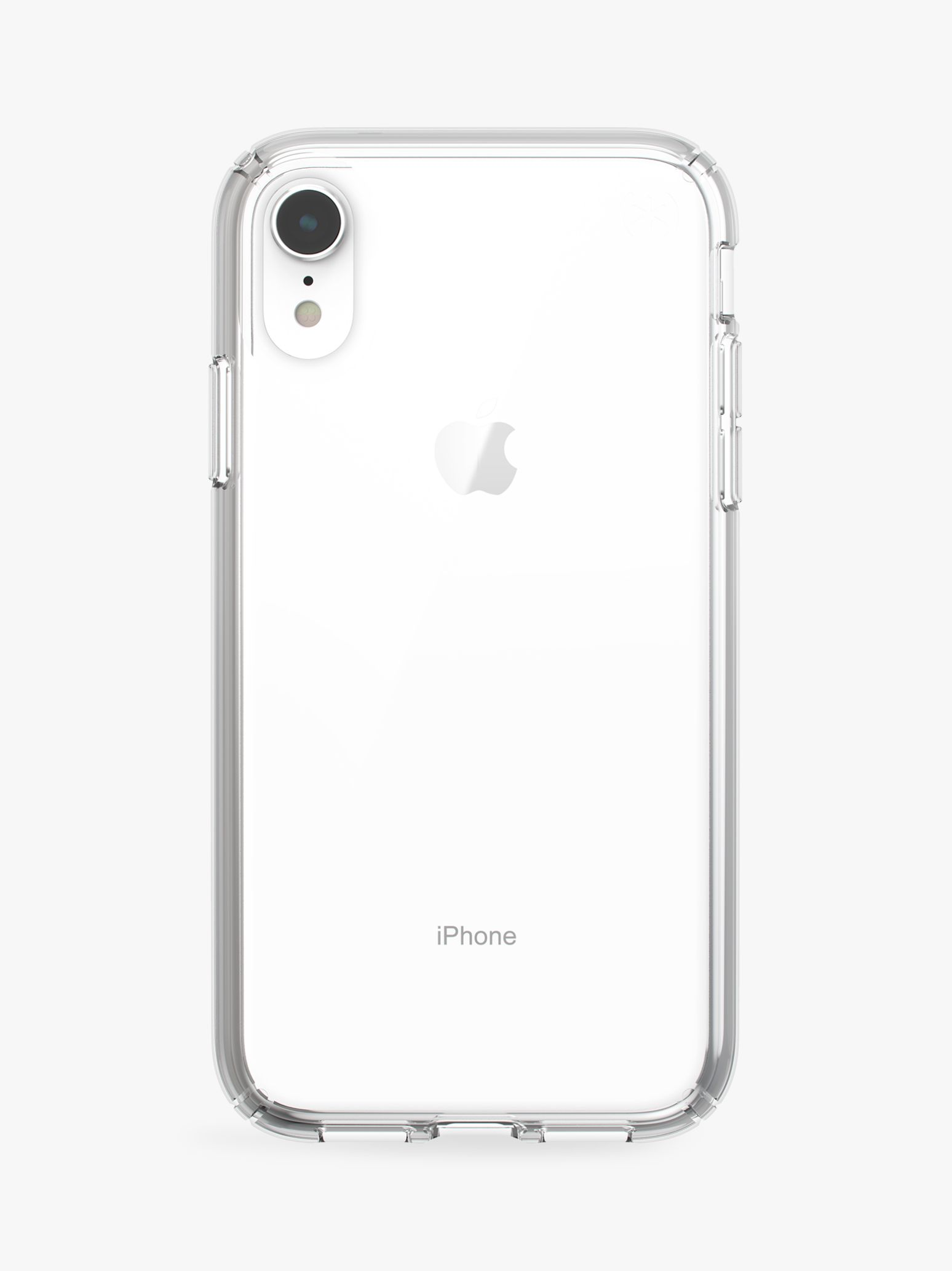 reputable site 336b5 73df0 Speck Presidio Stay Clear Case for iPhone XR