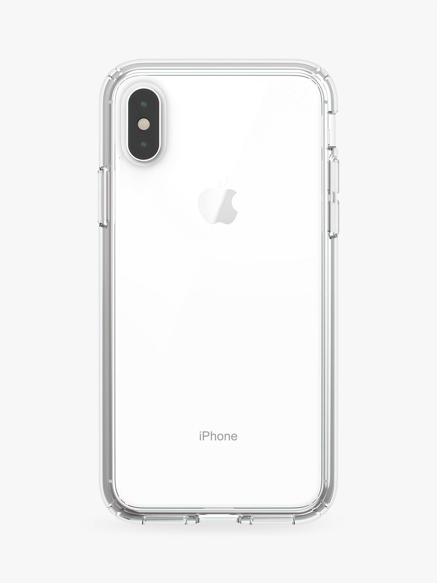 pretty nice b902e 2520b Speck Presidio Stay Clear Case for iPhone XS
