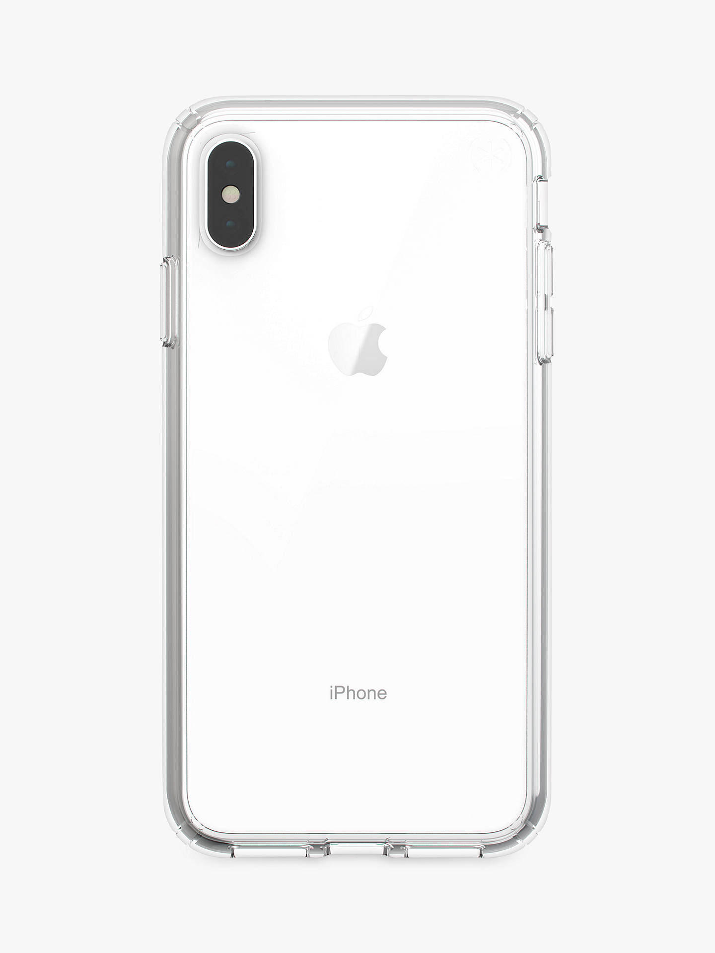 708871c5a903 Buy Speck Presidio Stay Clear Case for iPhone XS Max Online at johnlewis.com