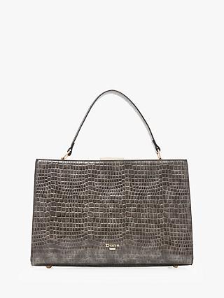Dune Dlady Croc Effect Grab Bag