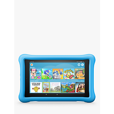 Image of Amazon Fire HD 8 (2018) Kids Edition Tablet with Kid-Proof Case, Quad-core, Fire OS, Wi-Fi, 32GB, 8