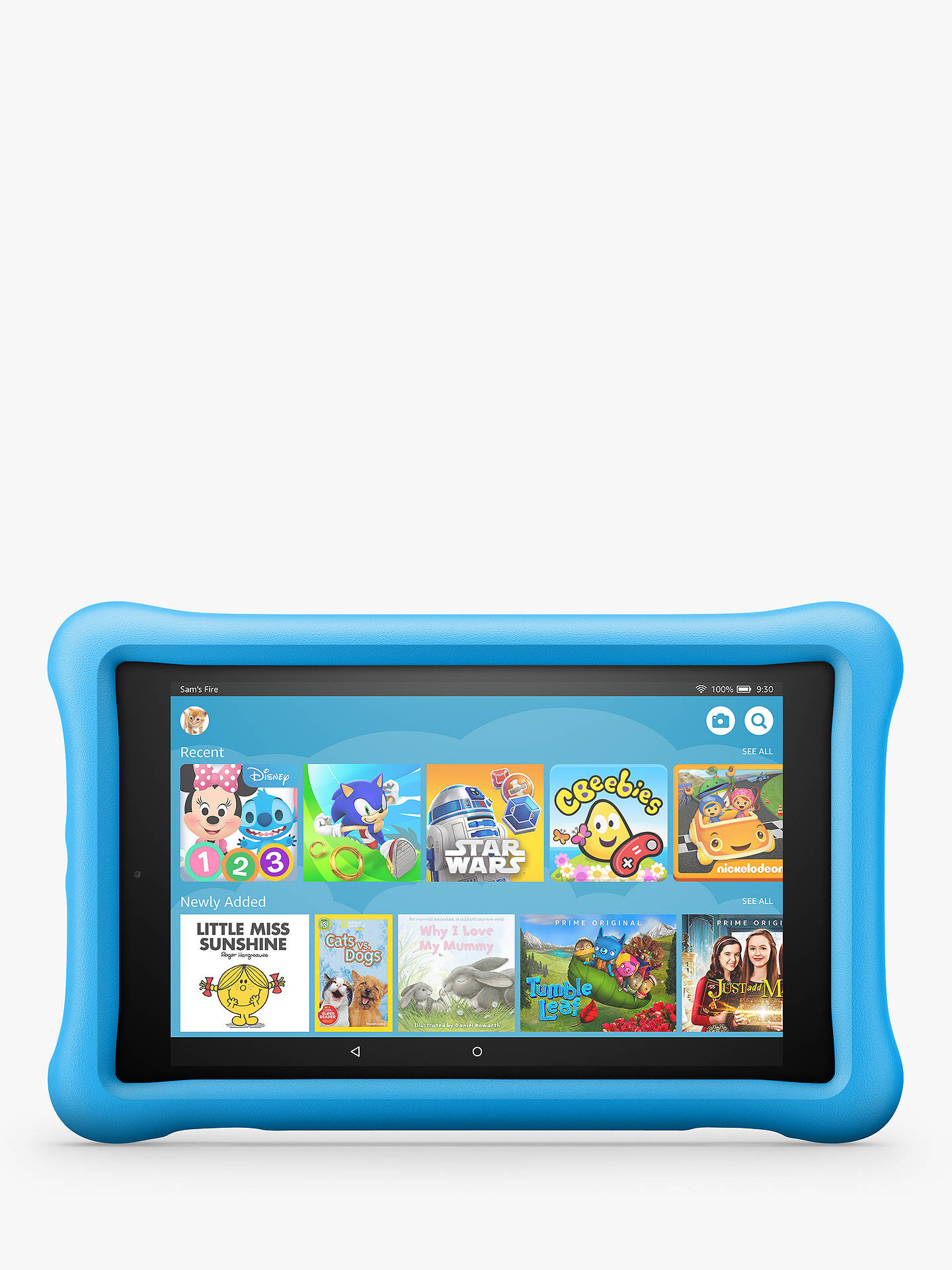 ae8628545 Buy Amazon Fire HD 8 (2018) Kids Edition Tablet with Kid-Proof Case ...