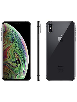 "Apple iPhone XS Max, iOS, 6.5"", 4G LTE, SIM Free, 64GB"