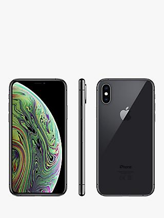 "Apple iPhone XS, iOS, 5.8"", 4G LTE, SIM Free, 512GB"