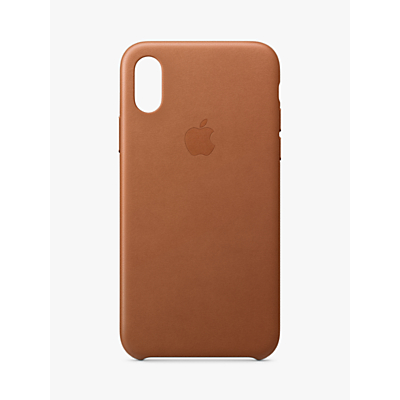 Image of Apple Leather Case for iPhone XS