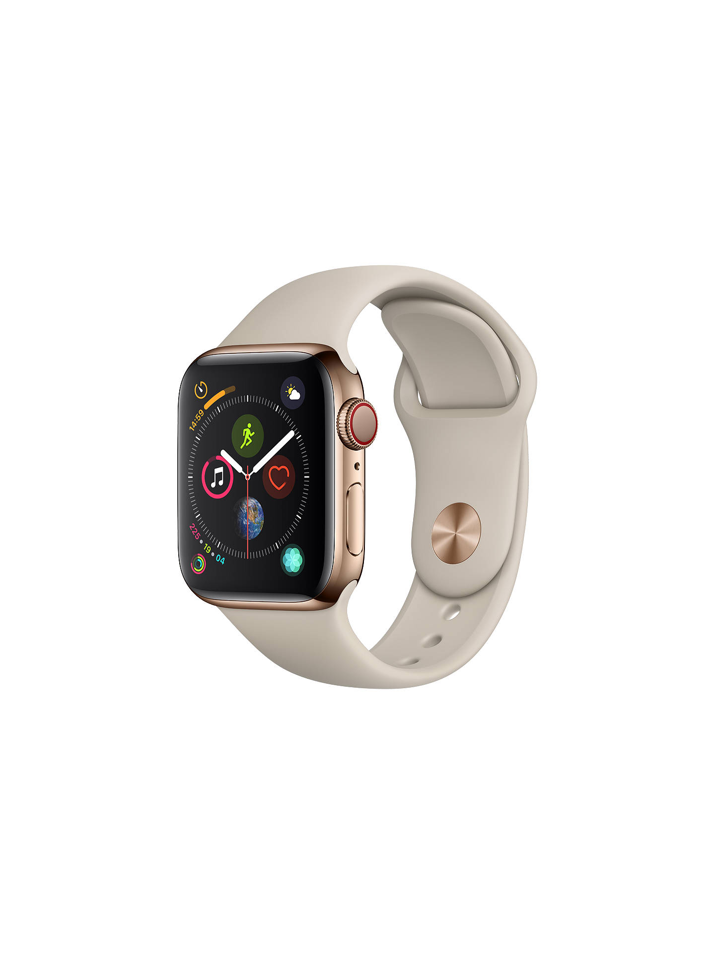 Apple Watch Series 4 Gps And Cellular 40mm Gold Stainless Steel Huawei With Link Band Us Warranty Buyapple Case Sport