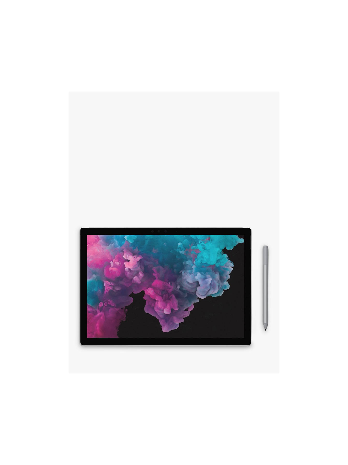 Microsoft Surface Pro 6 Tablet, Intel Core i7, 8GB RAM, 256GB SSD, 12 3