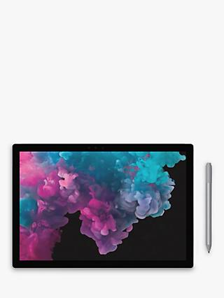"Microsoft Surface Pro 6 Tablet, Intel Core i7, 8GB RAM, 256GB SSD, 12.3"" Touchscreen, Platinum"