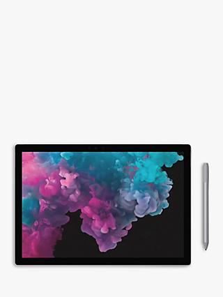 "Microsoft Surface Pro 6 Tablet, Intel Core i7, 16GB RAM, 512GB SSD, 12.3"" Touchscreen, Platinum"