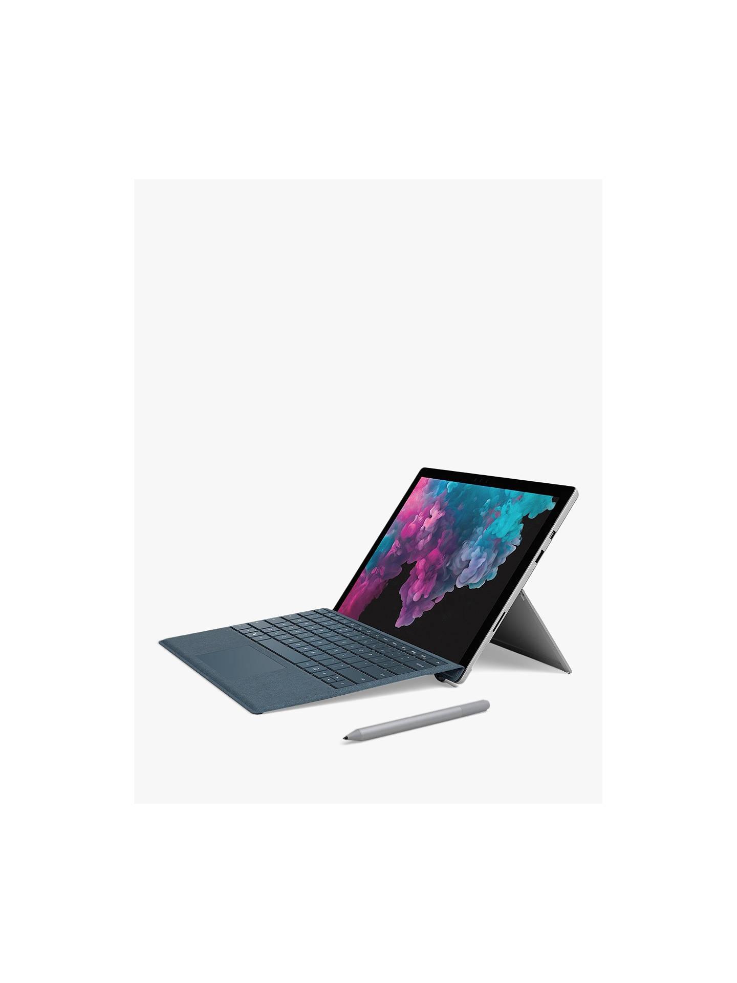Microsoft Surface Pro 6 Tablet, Intel Core i5, 8GB RAM, 128GB SSD, 12 3
