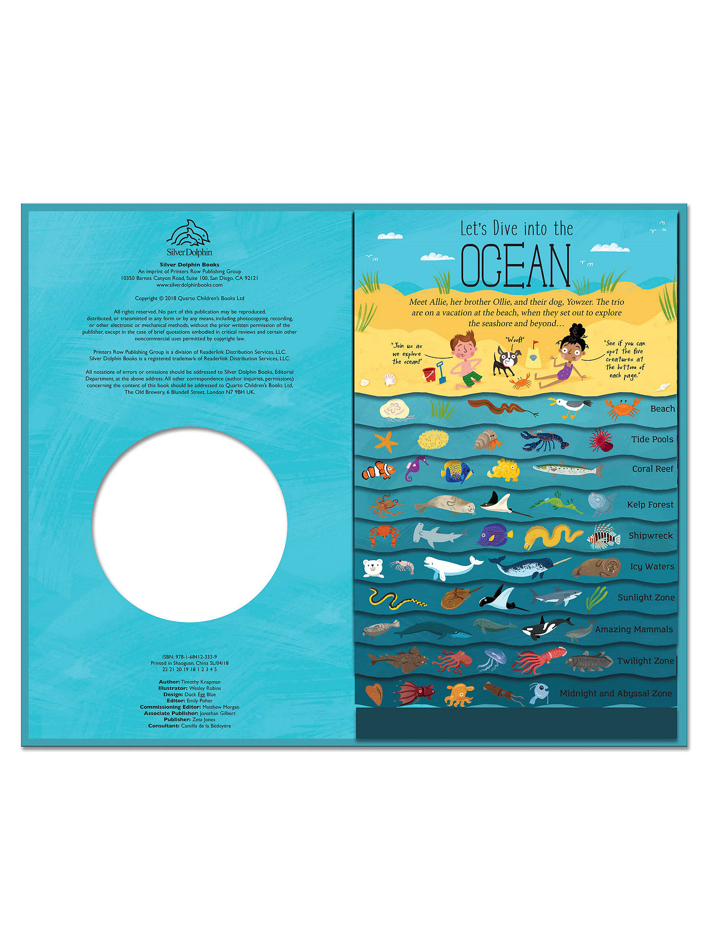 Let S Dive Into The Ocean Children S Book At John Lewis Partners