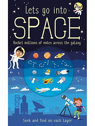Lets Go Into Space Children's Book