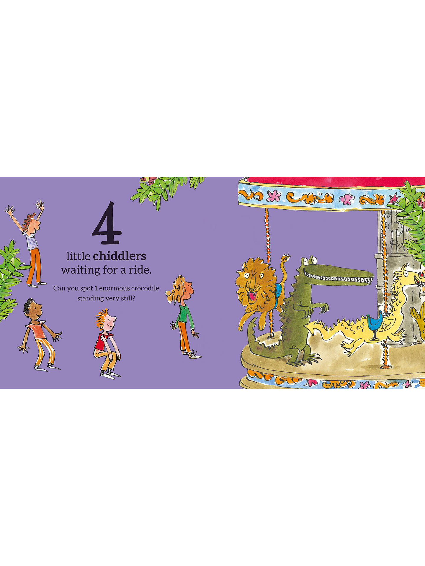 Buy Roald Dahl's 123 Children's Book Online at johnlewis.com