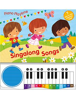 Piano Playtime Singalong Songs Children's Book