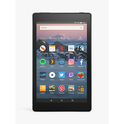 Image of Amazon Fire HD 8 (2018) Tablet with Alexa Hands-Free, Quad-core, Fire OS, 8 HD, Wi-Fi, 16GB, with Special Offers