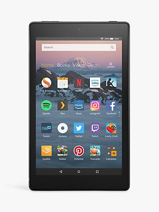 "Amazon Fire HD 8 (2018) Tablet with Alexa Hands-Free, Quad-core, Fire OS, 8"" HD, Wi-Fi, 16GB, with Special Offers"