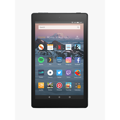 Image of Amazon Fire HD 8 (2018) Tablet with Alexa Hands-Free, Quad-core, Fire OS, 8 HD, Wi-Fi, 32GB, with Special Offers