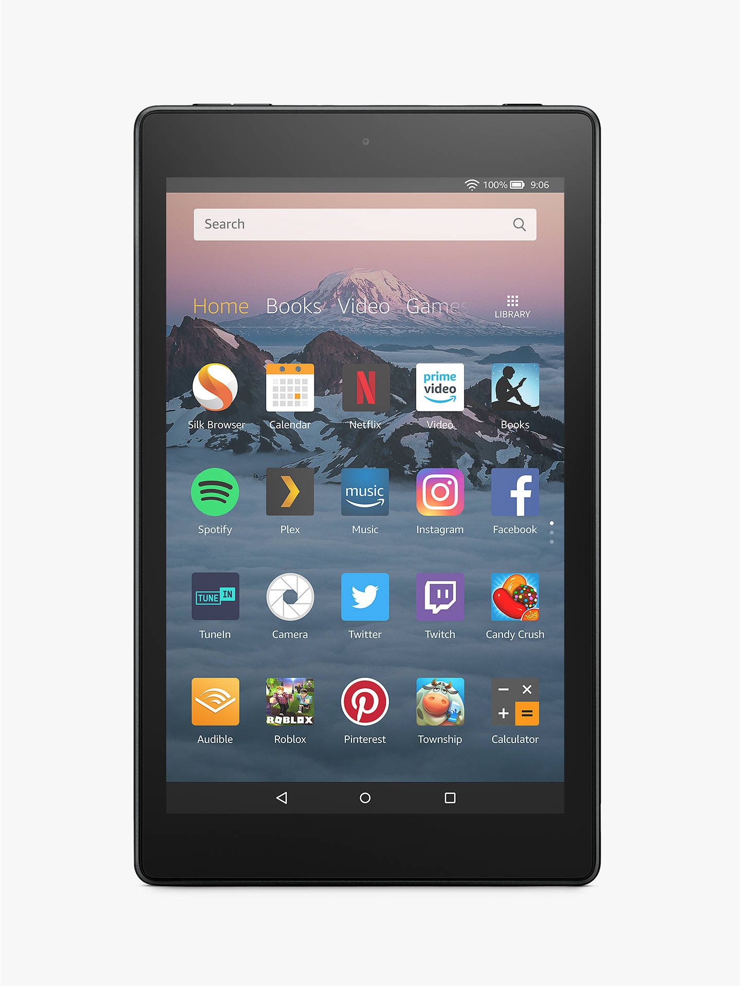 274684e5c5873 Amazon Fire HD 8 (2018) Tablet with Alexa Hands-Free, Quad-core, Fire OS, 8