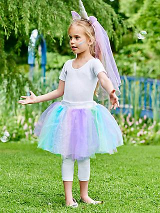 Travis Designs Unicorn Tutu Children's Costume, 3-8 years