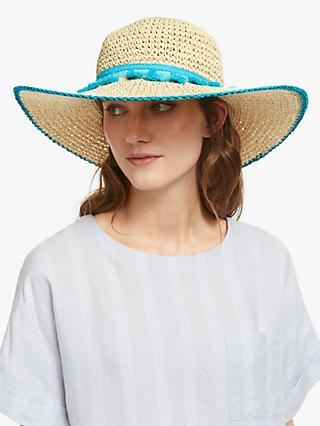 Collection WEEKEND by John Lewis Tassel Detail Floppy Hat, Neutral