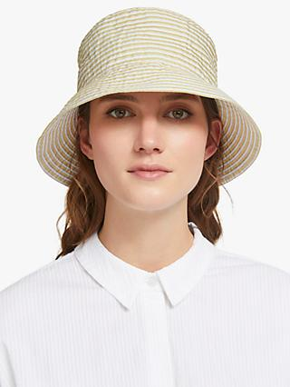 c8b55a17dd775 John Lewis   Partners Packable Stripe Small Bucket Hat
