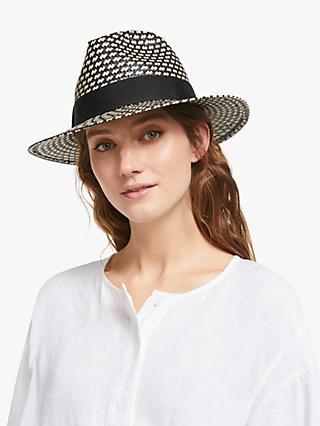 47b84b9df0b John Lewis   Partners Textured Fedora Hat
