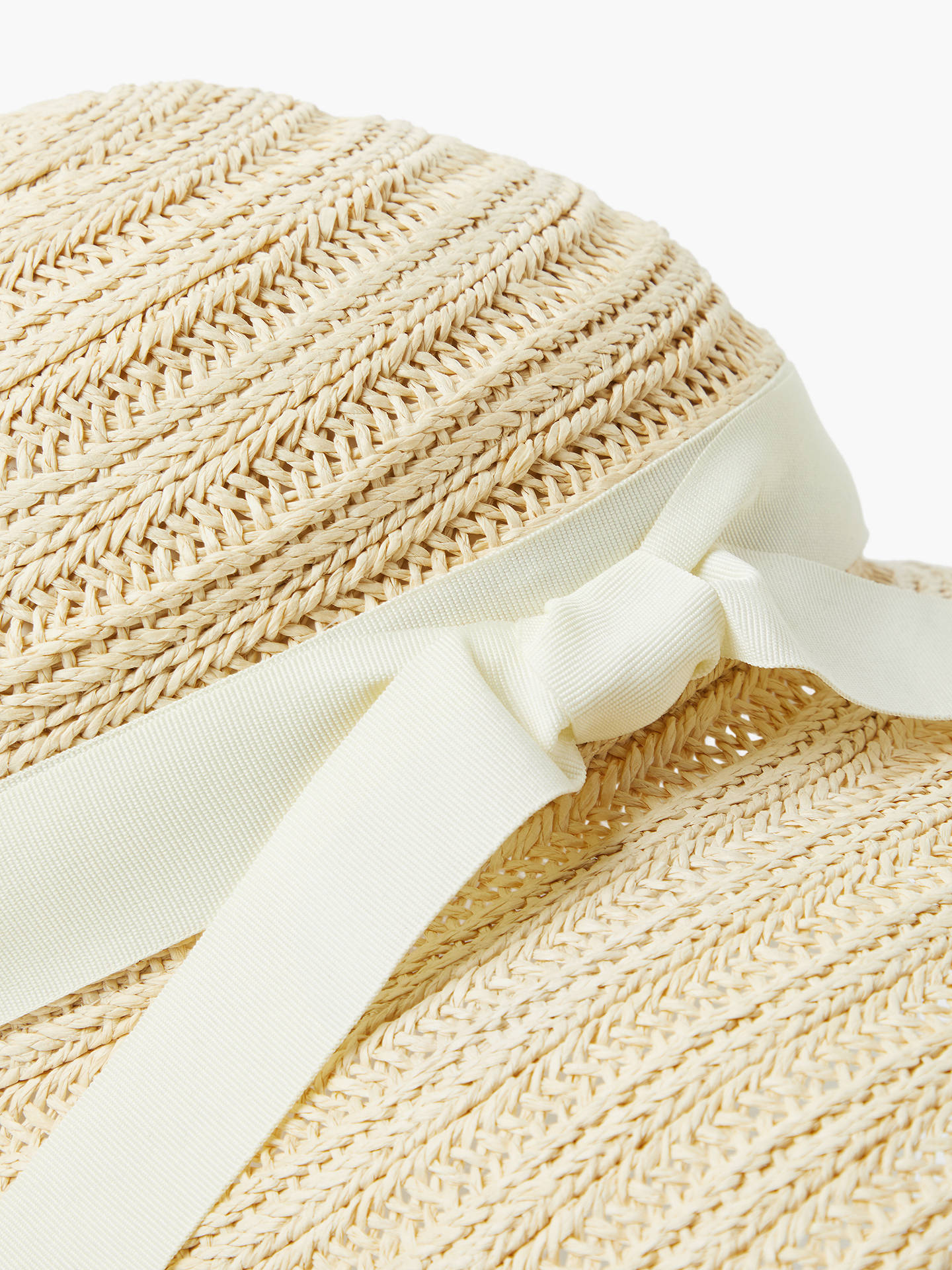 8655de43 Buy John Lewis & Partners Downturn Brim Garden Sun Hat, Natural Online at  johnlewis.