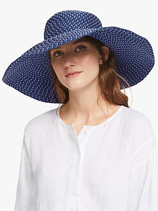 6a2f44c74034 John Lewis   Partners Packable Spot Floppy Sun Hat