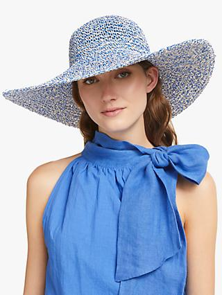 8a58bd814ce John Lewis   Partners Packable Weave Mix Floppy Sun Hat