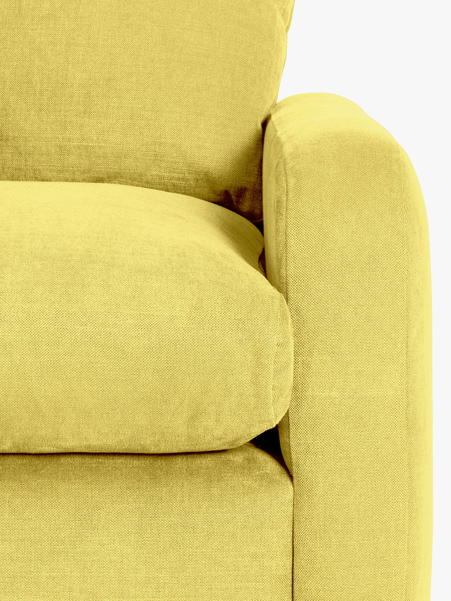 Buy Floppy Jo Large Corner Sofa by Loaf at John Lewis, Brushed Cotton Maize Yellow Online at johnlewis.com