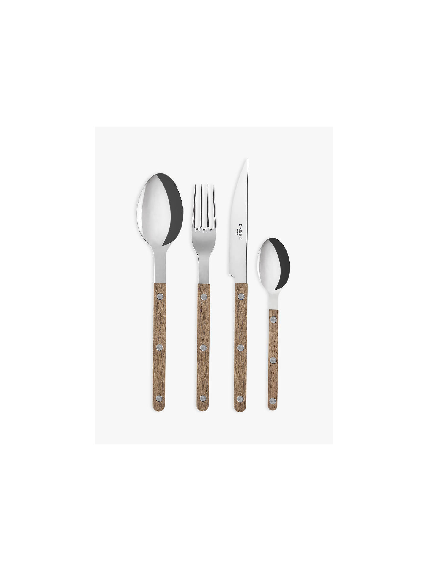 Buy Sabre Bistrot Table Fork, Teak Online at johnlewis.com