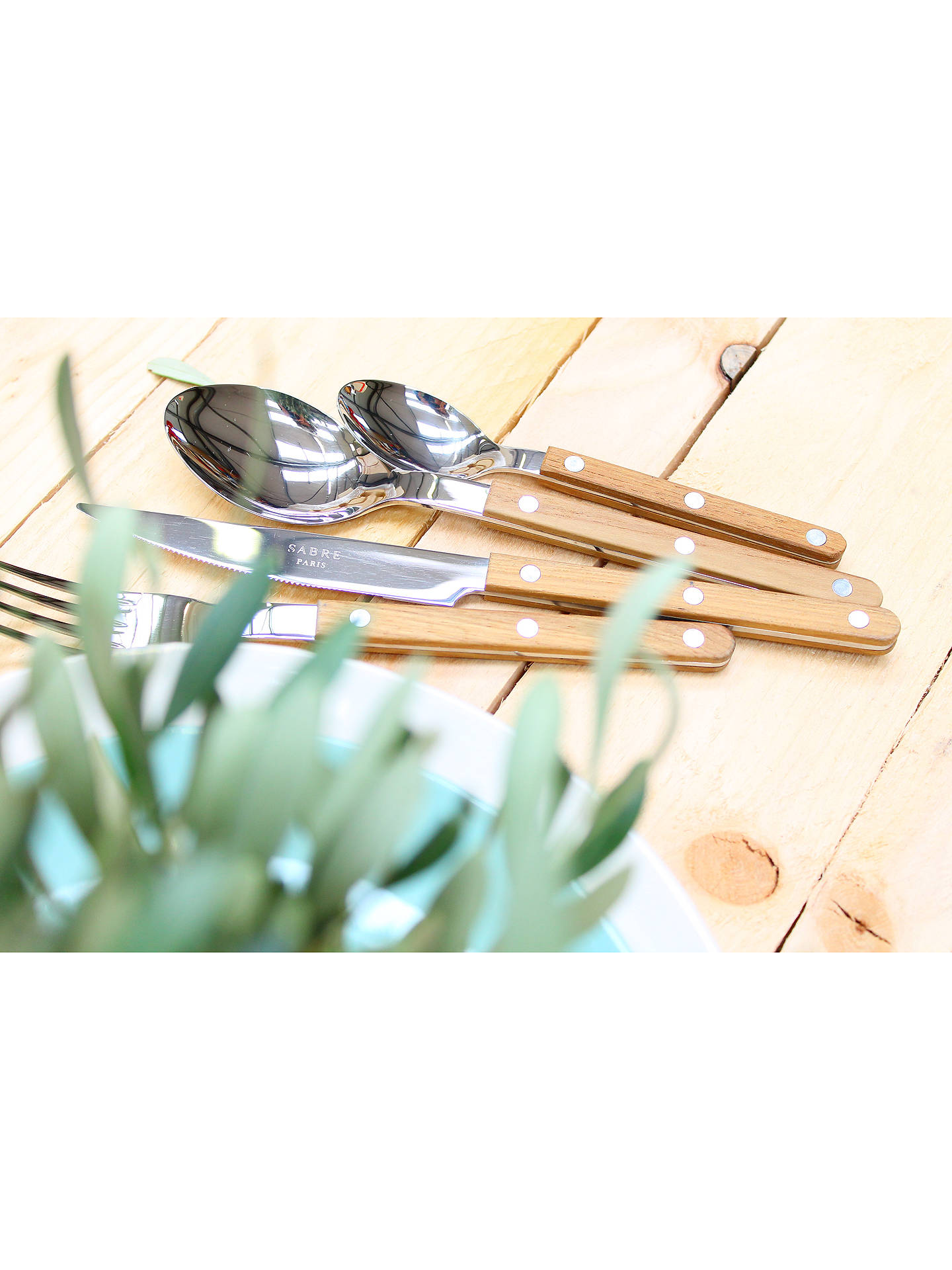 Buy Sabre Bistrot Butter Knife, Teak Online at johnlewis.com