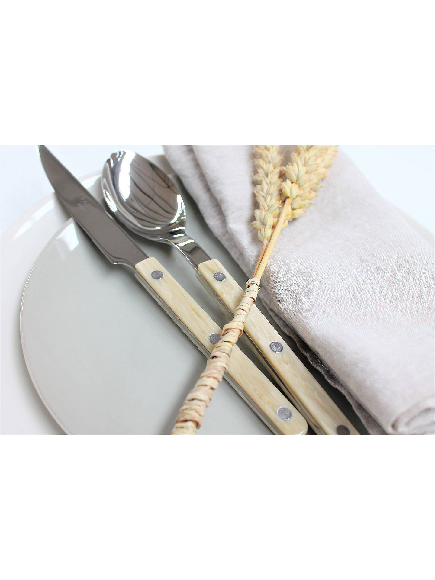 Buy Sabre Bistrot Butter Knife, Horn Online at johnlewis.com
