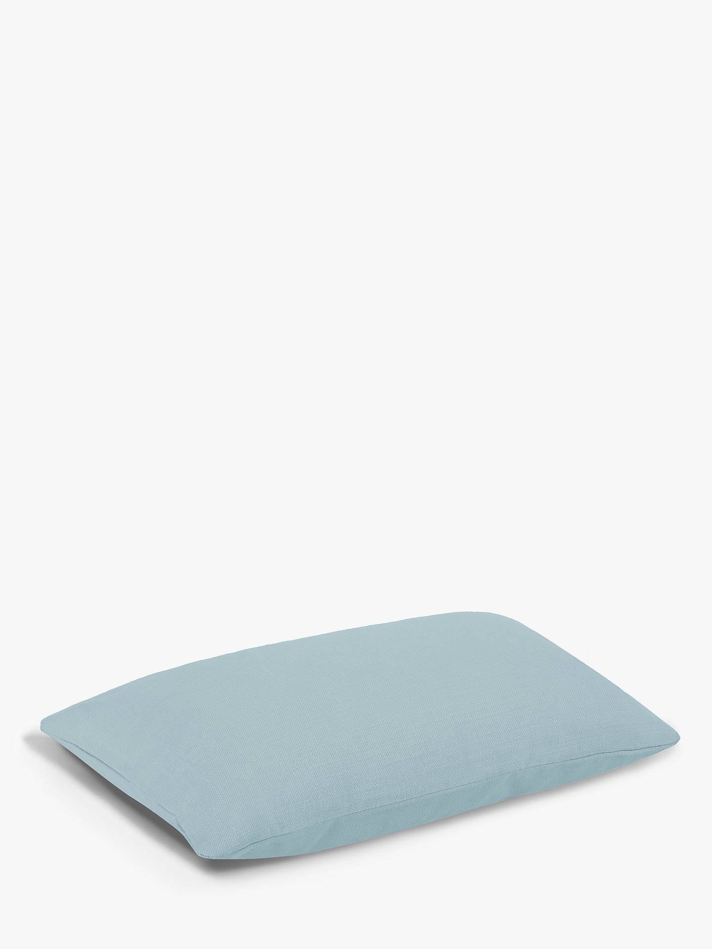 Buy Rectangular Stretch Scatter Cushion by Loaf at John Lewis, Clever Softie Powder Blue Online at johnlewis.com