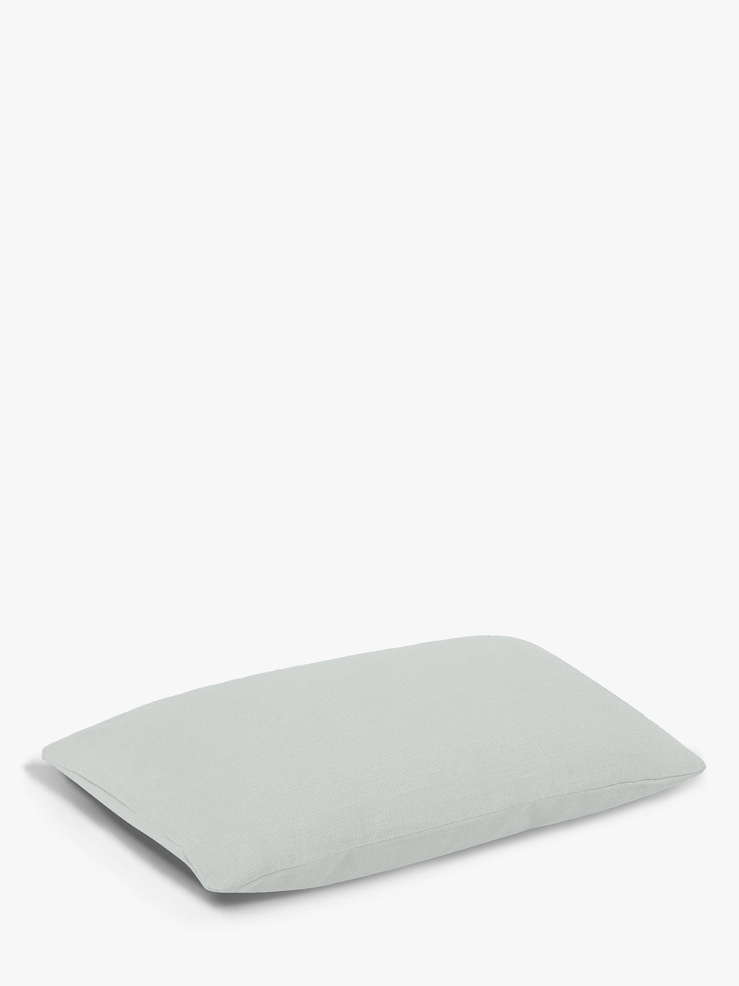 Buy Rectangular Stretch Scatter Cushion by Loaf at John Lewis, Clever Softie Pewter Online at johnlewis.com