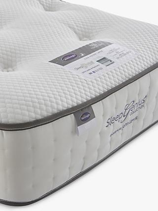 Silentnight Sleep Genius 2200 Pocket Latex Mattress, Medium/Firm Tension, Super King Size