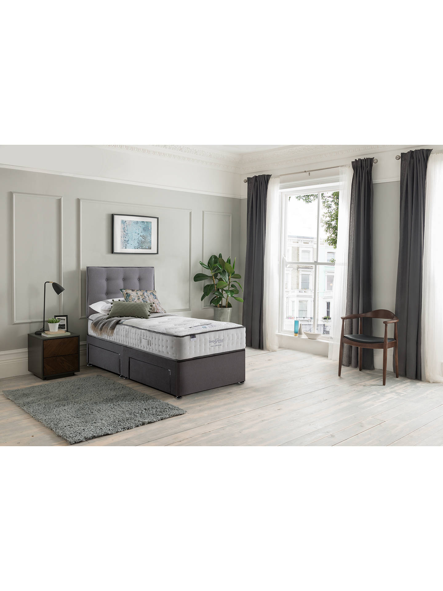 Buy Silentnight Sleep Genius 3000 Pocket Geltex Mattress, Medium Tension, Single Online at johnlewis.com