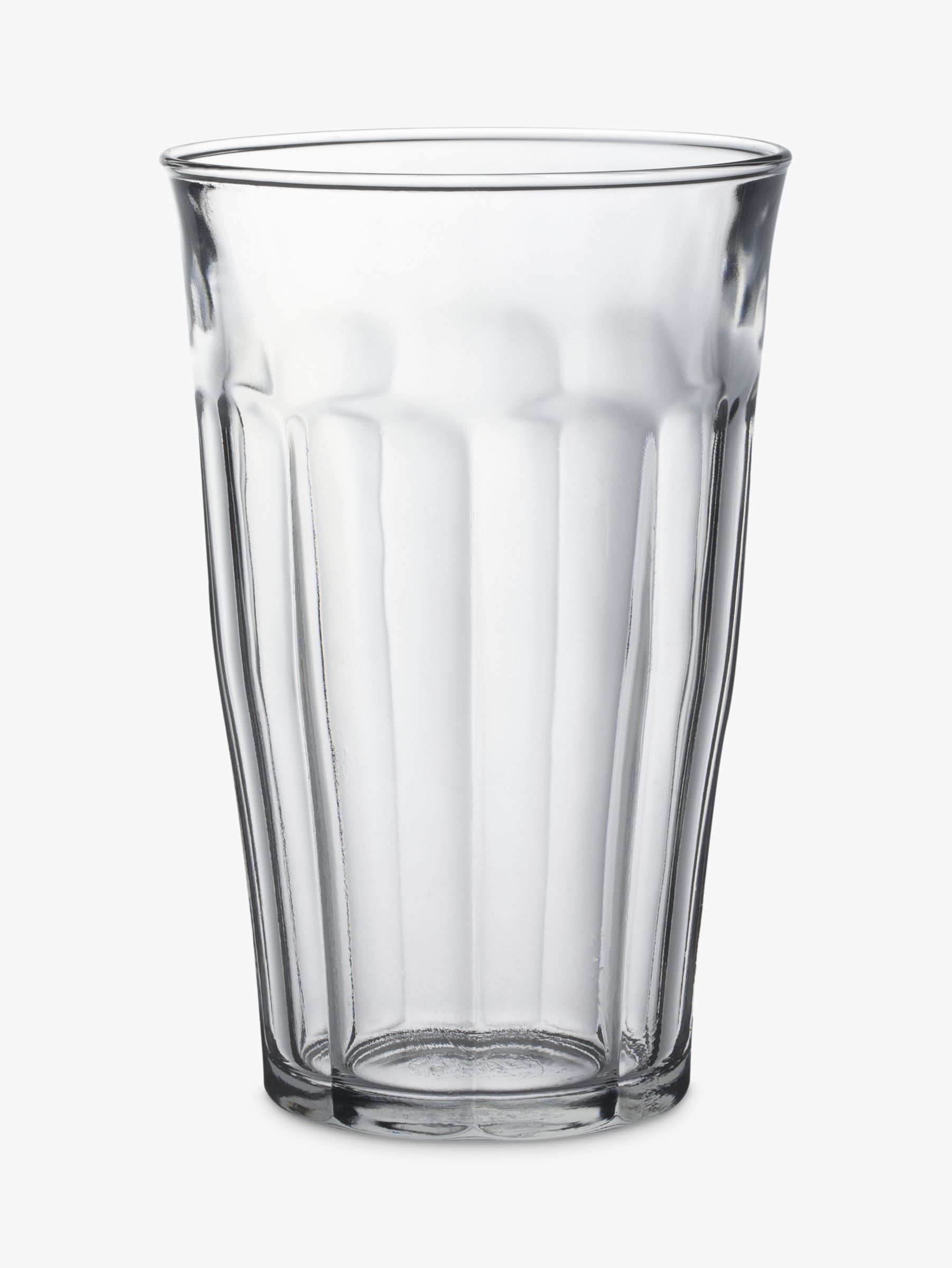 Duralex Duralex Picardie Tumblers, Set of 4, Clear, 500ml
