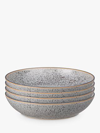 Denby Studio Grey Pasta Bowls, 22cm, Set of 4