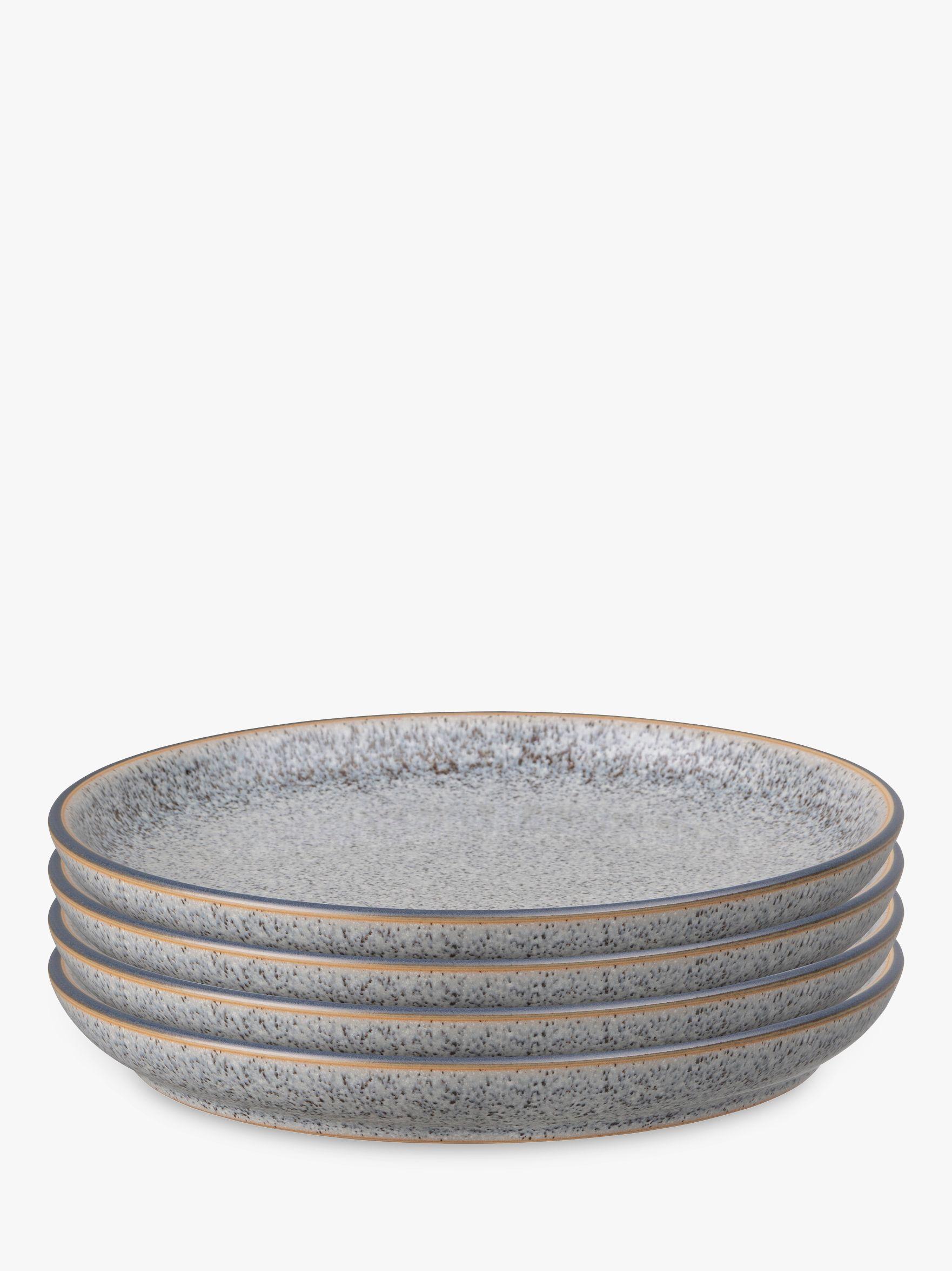 Denby Studio Grey Coupe Dinner Plates 26cm Set Of 4 At John Lewis Partners