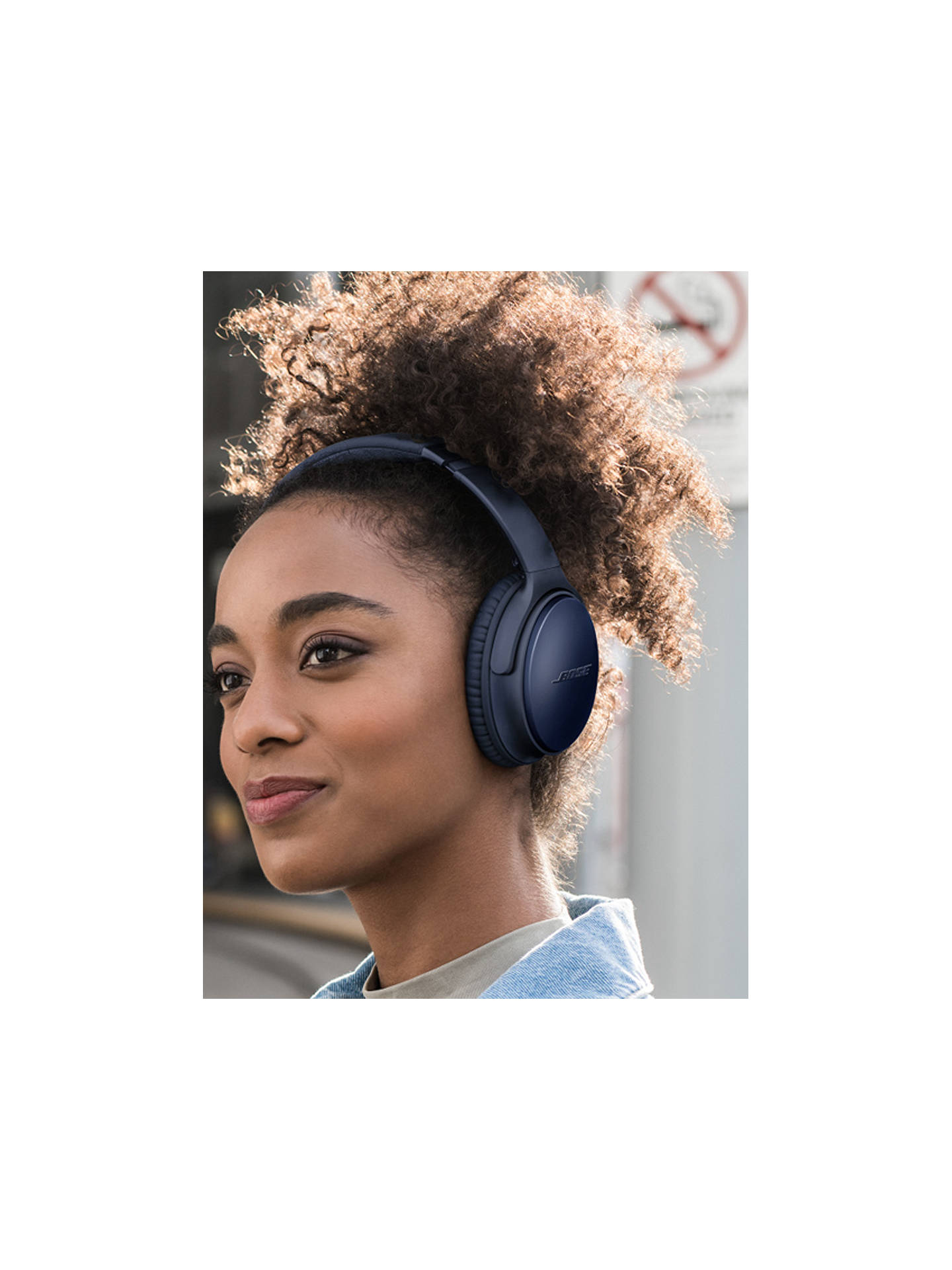 Buy Bose® QuietComfort® Noise Cancelling® QC35 II Over-Ear Wireless Bluetooth NFC Headphones With Mic/Remote & Built-in Google Assistant & Alexa, Triple Midnight Blue Online at johnlewis.com