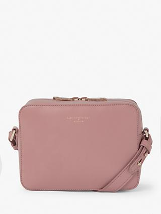 73ec075ea1f6 Aspinal of London Pebbled Leather Camera Cross Body Bag