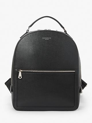Aspinal of London Mount Street Leather Small Backpack ae019b06a55f2