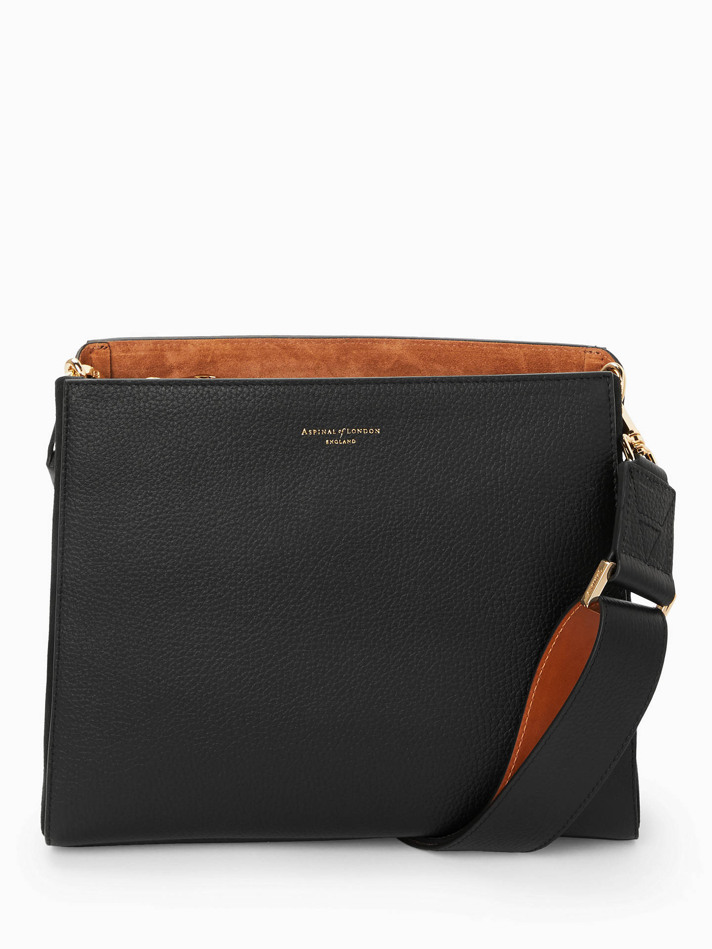 0c4fc4322f89 Aspinal of London Ella Leather Hobo Bag at John Lewis   Partners