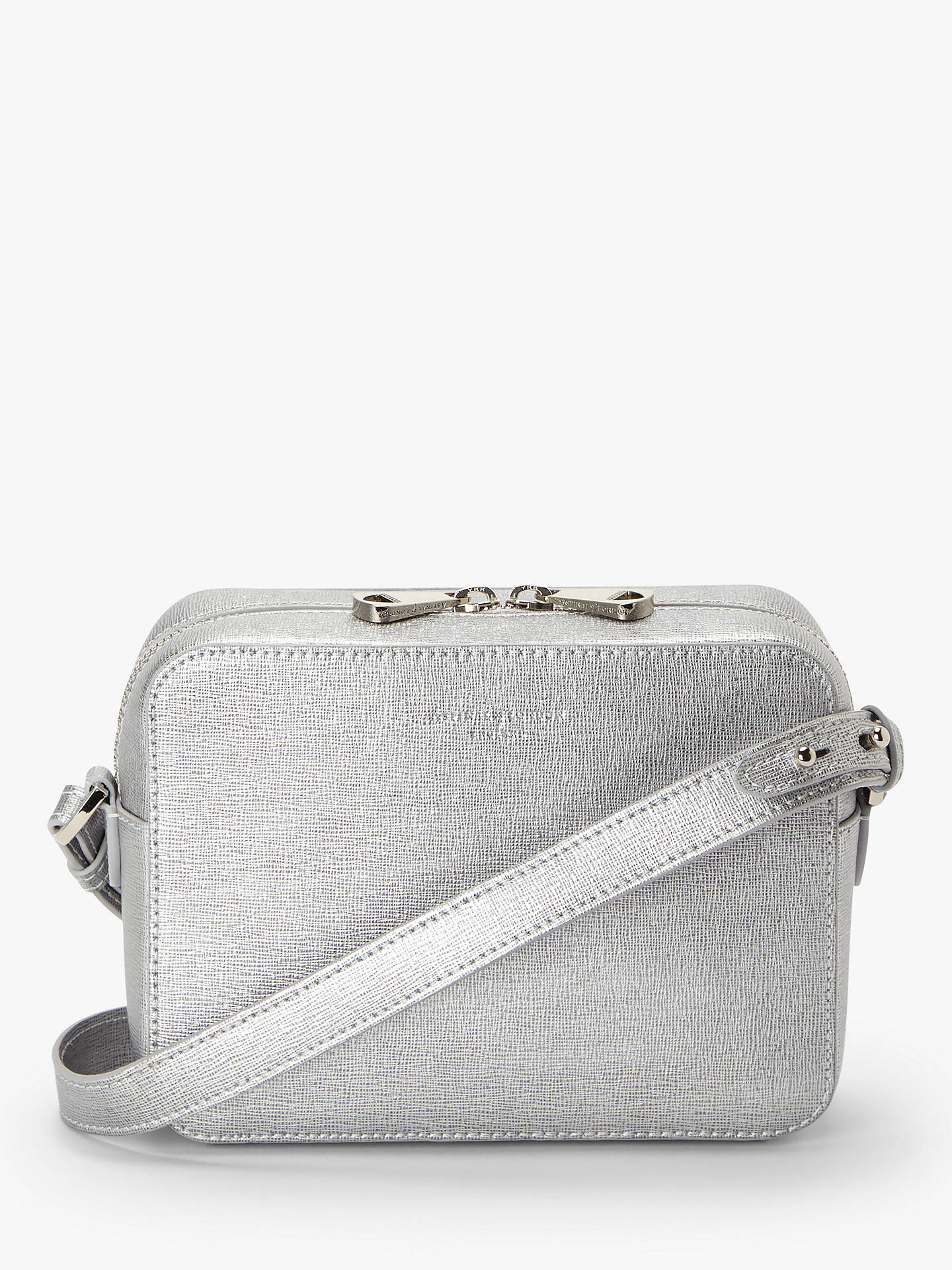 feb116921378 Aspinal of London Leather Camera Cross Body Bag at John Lewis   Partners