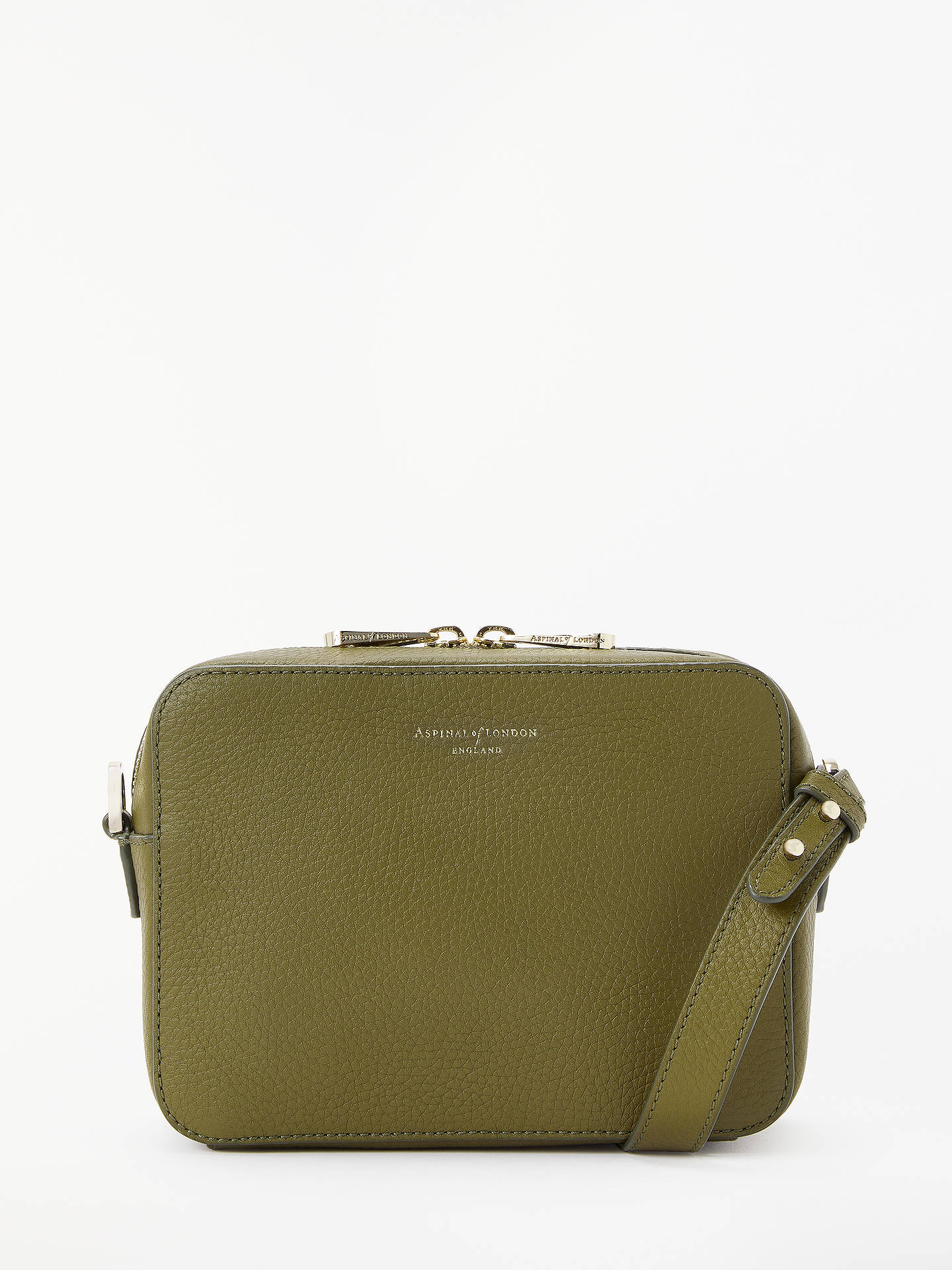 0742dd591bf4 Aspinal of London Blogger Leather Cross Body Bag, Oline