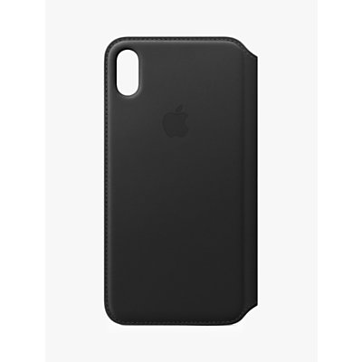 Image of Apple Leather Folio Case for iPhone XS Max