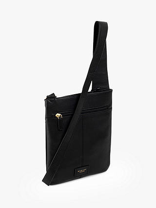 Buy Radley Bayford Cross Body Bag, Black Online at johnlewis.com